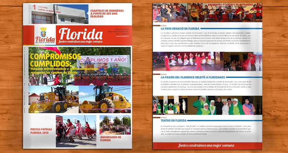 Periódico Municipalidad de Florida